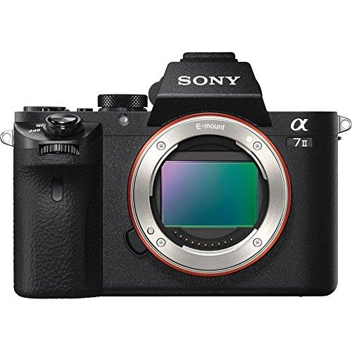 Sony Alpha a7 II Full-Frame Mirrorless Camera (Body Only) Black ILCE7M2/B