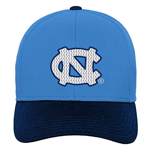 (Gen 2 NCAA North Carolina Tar Heels Youth Boys Velocity Structured Flex Hat, Youth Boys One Size, Light Blue)