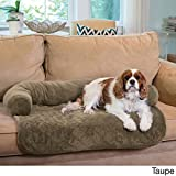 Bolstered Premium Pet Bed Furniture Cover Protector With Machine Washable ...