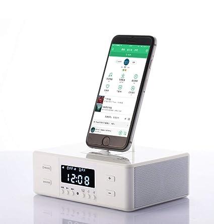 Thole Despertador Digital con Cargador para móviles con ...