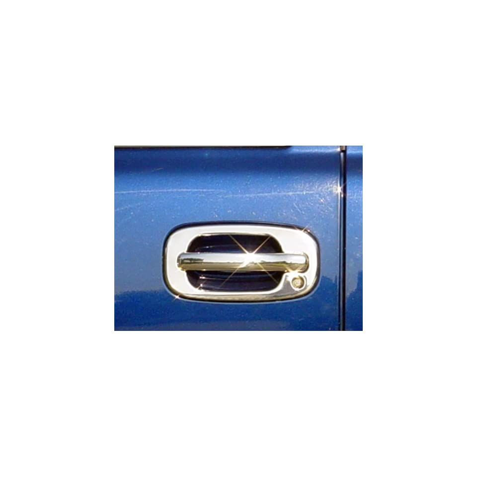 Chevrolet Silverado / Avalanche / Tahoe / Suburban 02 06   GMC Sierra / Yukon / YukonXL / Denali 99 06 Chrome ABS Door Handle Insert Accent Valutrim