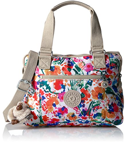 Kipling, Borsa a mano donna multicolore Floral Night Natural