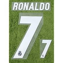 RONALDO #7 Real Madrid Away 2016-2017 Soccer Jersey Football Shirt Print Name Number Set Adults Transfer