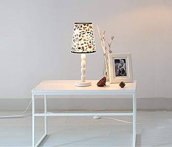 M&Ms mm Gqq Blanco Lámpara de Mesa de Hierro Forjado ...