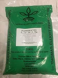 tev4patatas, frutas y vegetales fertilizantes (5.3: 7,5: 10.0+ Te)