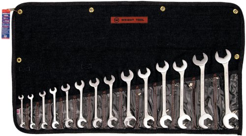 Wright Tool 733 Open End, Double Angle 15 and 60 Degrees - 60 Degree Angle Wrench