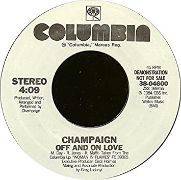 CHAMPAIGN - off and on love - Amazon.com Music
