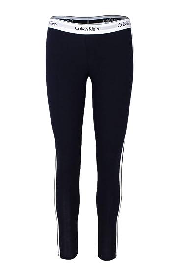cfbe6a56ffc8b Calvin Klein Underwear Leggings Women Blue: Amazon.co.uk: Clothing