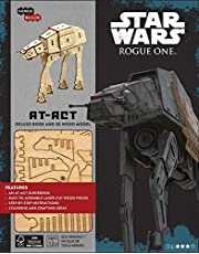 IncrediBuilds: Star Wars: Rogue One: AT-ACT Deluxe Book and Model Set
