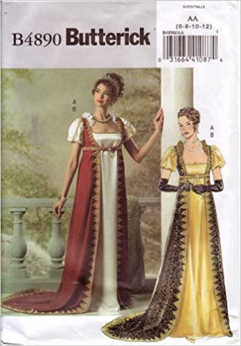 Butterick Sewing Pattern B4890 Misses Historical Costume / Medieval ...