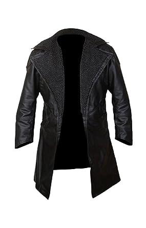 BNH Ryan Gosling Blade Runner 2049 Officer K Black Real Leather Coat Sale  Of The Week