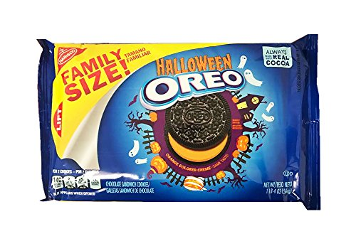 Oreo Limited Halloween Cookie Family Size Pack 1lb -