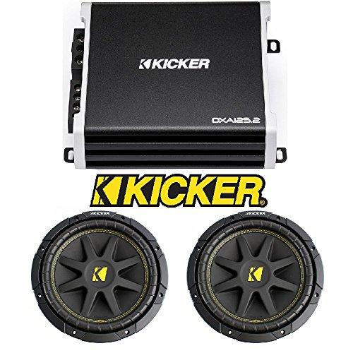 Kicker 43DXA125.2 125-Watt 2-Channel Full-Range Car Amplifier KICKER C10 Comp 10
