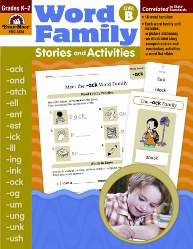 Word Family Stories & Activities, Level B by EVAN-MOOR