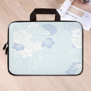 Amazon.com: Bolsa de neopreno para portátil, diseño de rayas ...