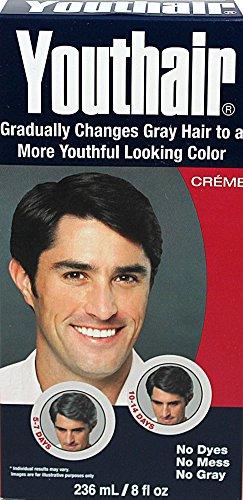 Youthair pour Hommes Couleur des cheveux & Conditioner Creme 8 oz