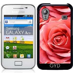 Funda para Samsung Galaxy Ace (GT-S5830) - Rosa Roja by Andrea Haase