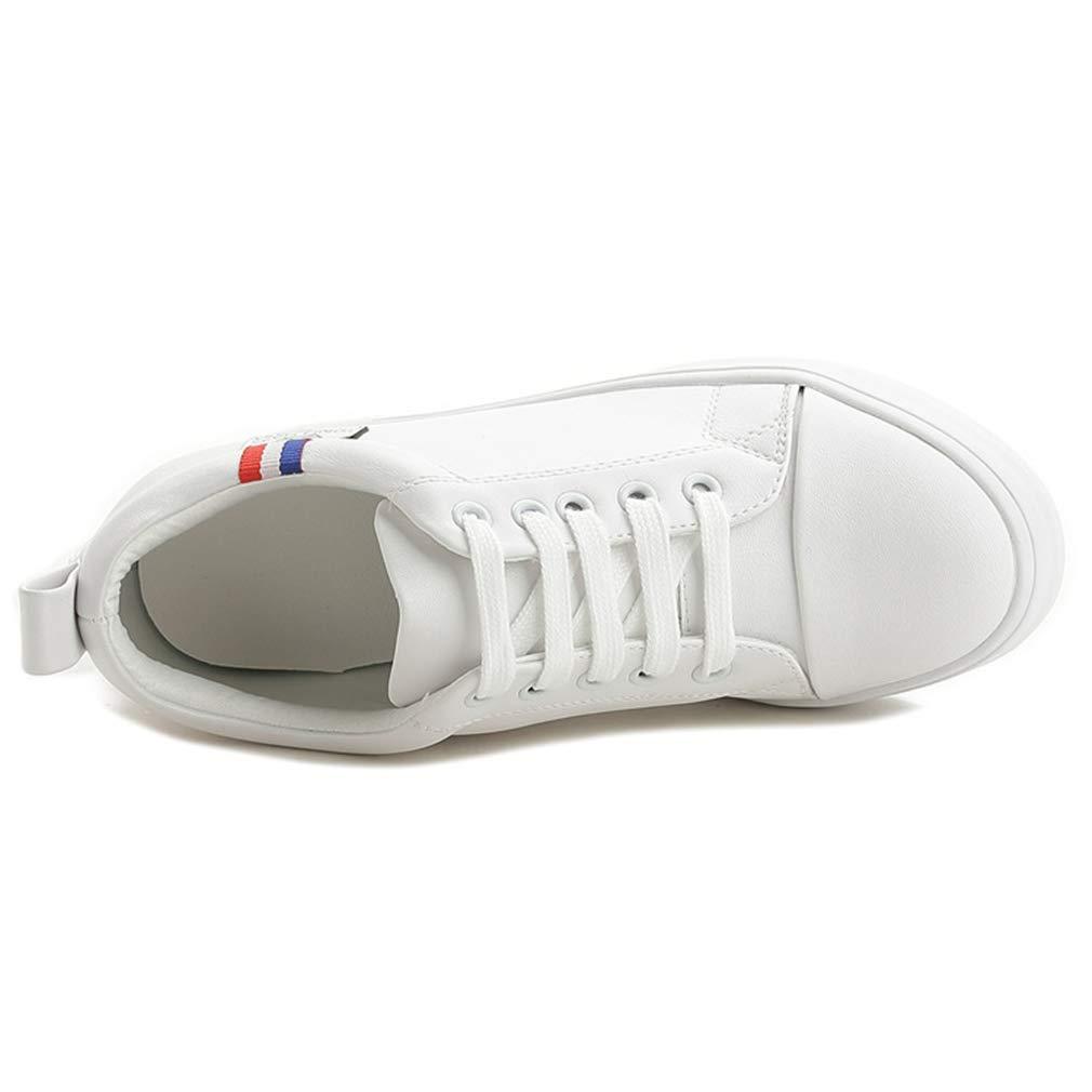 YAN Damenschuhe 2019 Spots Schuhe Low-Top Low-Top Low-Top Casual schuhe Atemnot PU Outdoor Wanderschuhe Weiß schwarz Weiß 36 81ee64