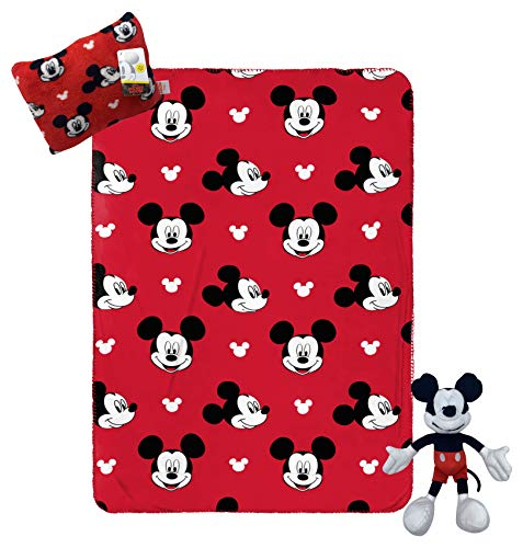 Jay Franco Disney Mickey Mouse Travel Set - 3 Piece