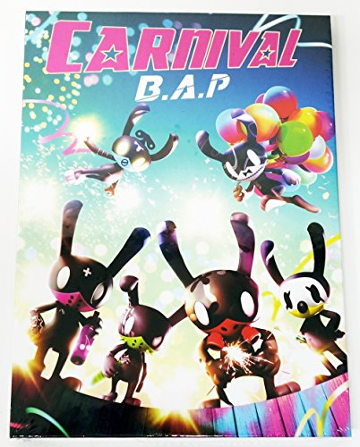 B.A.P BAP - CARNIVAL (5th Mini) [SPECIAL ver.] CD + 60p Photobook + Photocard + Photocard + Standing Paper + Folded Poster + Extra Gift Photocard Set
