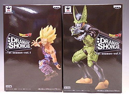 (Dragon Ball Z Dramatic Showcase 1st Season Vol.1 2figures Complete Set Banpresto Japan)