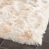 Safavieh Shag & Flokati Rug - Paris Shag Polyester Pile -Ivory Ivory/Shag & Flokati/6'L x 2' 3''W/Runner