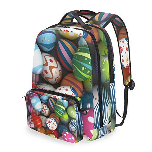 Laptop Backpack, 2 in 1 Multi-Functional Convertible Messenger Bag Egg-Shell Painting Backpack Fits for 15 inch Computer/Notebook/Tablet, Sports Bag for Men Women ()