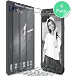 LK [4 Pack] Samsung Galaxy S7 Active Screen Protector, [Tempered Glass] Lifetime Replacement Warranty [NOT Fit Samsung Galaxy S7]