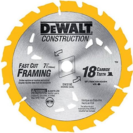 Dewalt dw3192 construction series 7 14 inch 18 tooth atb thin kerf dewalt dw3192 construction series 7 14 inch 18 tooth atb thin kerf greentooth Choice Image