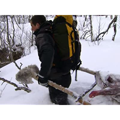 Bear Grylls in Arctic-Circle