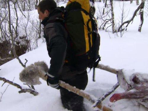 Bear Grylls in Arctic-Circle