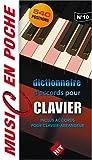Dictionnaire d'accords pour clavier - 540 positions - Inclus Accords pour clavier-arrangeur (music en poche n°10)