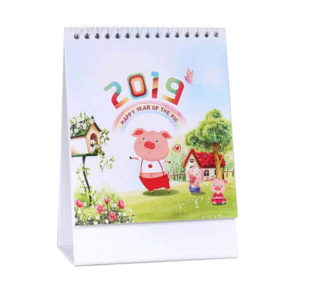 Monthly/Daily Schedule Notebook,2018-2019 Office/Home/School Calendar,C03