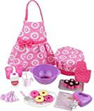 Click N' Play CNP0255 Doll Baking Set with Apron and Chef Hat, Perfect for 18