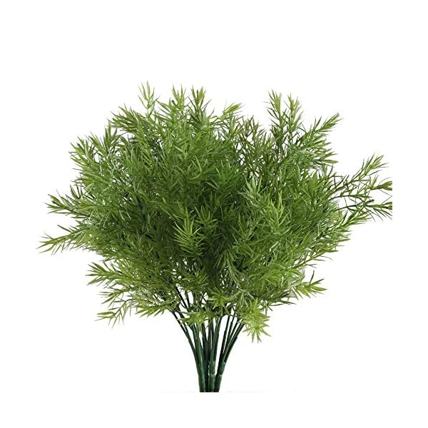 NAHUAA-Fake-Outdoor-Plants-4PCS-Artificial-Greenery-Bush-Faux-Plastic-Shrubs-Table-Centerpieces-Arrangements-Inddor-Outdoor-Home-Kitchen-Office-Windowsill-Spring-Decorations