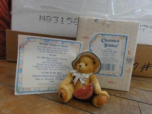 "Cherished Teddies- ""A Day In The Park"" 1993"