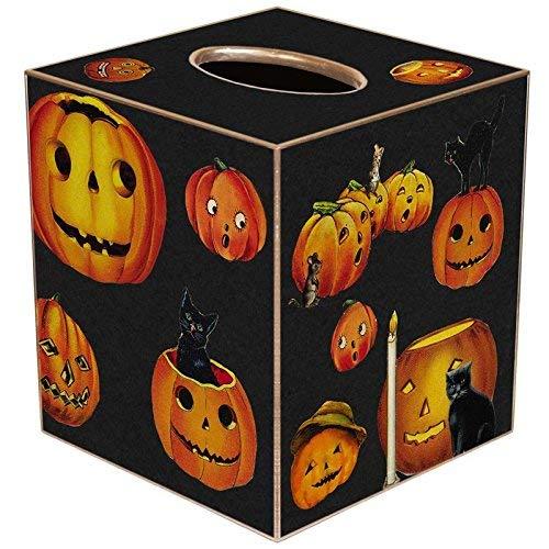 Marye-Kelley TB1859 - Lil Pumpkins Halloween Tissuebox Cover]()