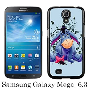 Great Quality Samsung Galaxy Mega 6.3 I9200 Case ,Eeyore Black Samsung Galaxy Mega 6.3 I9200 Cover Case Hot Sale Phone Case Unique And Beatiful Designed