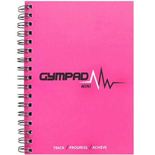 GymPad Mini Workout Journal - The Small Stylish Way To Track Your Workouts (Pink Mini (Single))