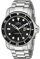 Invicta Men's 15075 Pro Diver Analog Display Japanese Quartz Silver Watch