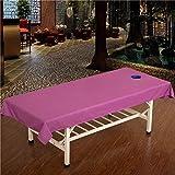 LWZY Linens Massage table sheet,waterproof sheets,spa linens/sheet/massage beauty sheets/health club beauty salon massage bed special sheets-F 120x230cm(47x91inch)