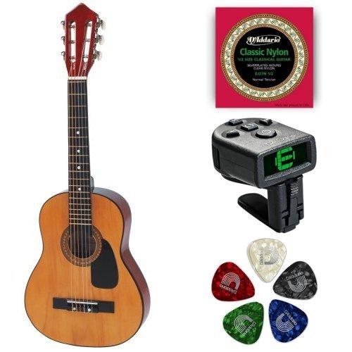 (Hohner HAG250P 1/2 Sized Beginner Guitar Bundle)