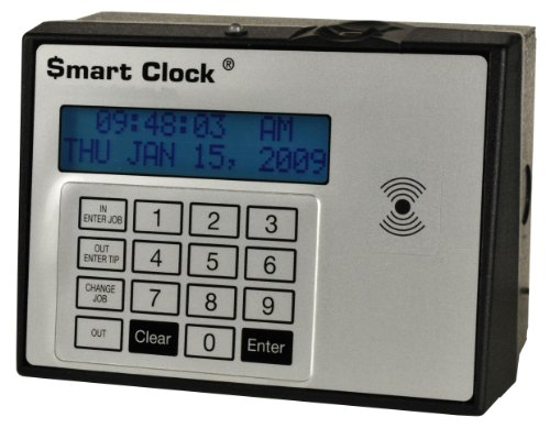 Attendance Terminal (Smart Clock 50270 225C Time and Attendance Terminal Fingerprint Proximity Reader-Clock Only)