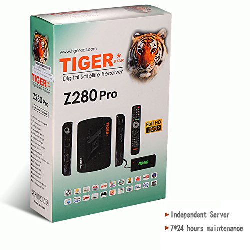 HPPFOTRS TIGER STAR Z280+ PRO Arabic IPTV Box, Over 1100+ HD Channels with WiFi, All Arabic TV Channels(French / Arabic / English)Free One Year (Iptv Android Arabic)