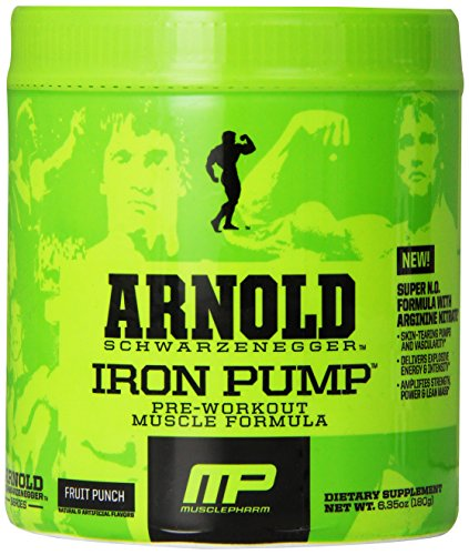 Muscle Pharm Arnold Schwarzenegger Series Iron Pump Pre-Work