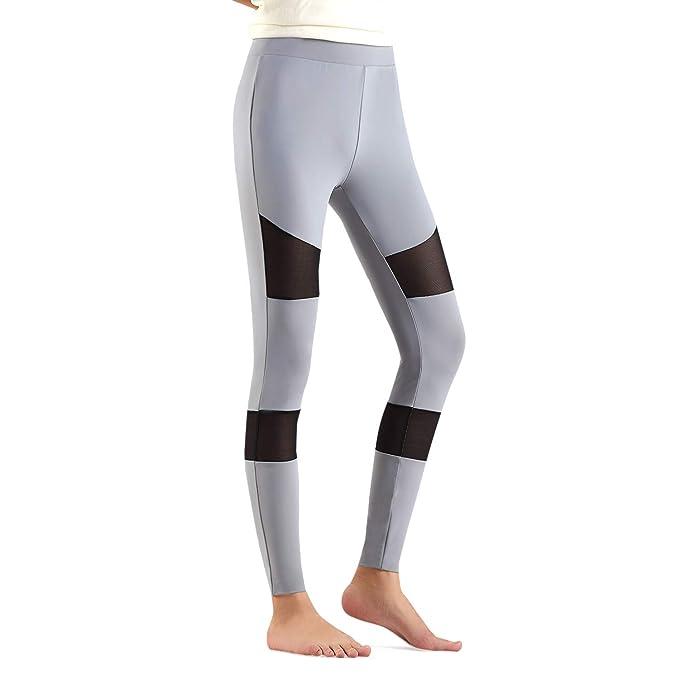 LeKuni Para Mujeres Leggings de Deporte Pantalones de Deporte Pantalones Fitness Entrenamiento Apretados Yoga Elásticos