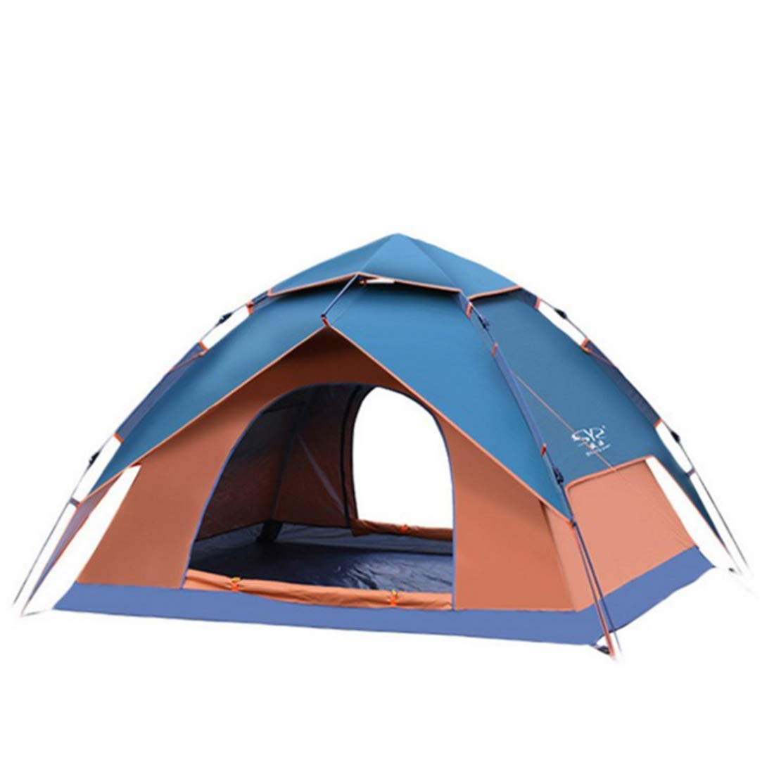 【日本産】 3-4人強いキャンプテント自動インスタントポップストラップテント超軽量防水ハイキング、パラソル蚊 B07P2KKR95 (色 : Orange) (色 Orange Orange B07P2KKR95, ライフスタイル&生活雑貨のMoFu:40a66097 --- ciadaterra.com