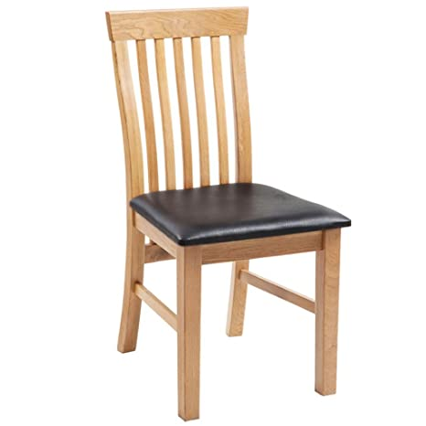 Astounding Festnight Solid Wood Kitchen Dining Chairs Set Of 6 Dining Room Furniture Set With Artificial Leather Upholstery 45 X 55 X 85 Cm Cjindustries Chair Design For Home Cjindustriesco