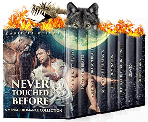 Never Touched Before: A Ménage Romance Collection