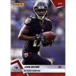 5128e53d7 2018 Panini Instant Football  335 John Brown Baltimore Ravens AFC North  Champions.